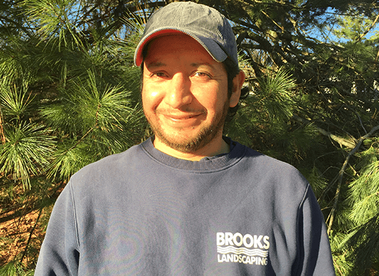 <p>Juan has been happily working for Brooks Landscaping since 2001.  Juan is proficient in most all facets of landscape maintenance and installation.  Juan enjoys working outdoors and providing an excellent finished product for our customers.</p>