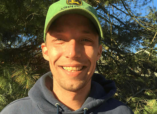<p>Kevin started working for Brooks Landscaping in 2016.  Kevins favorite part of the job is being out mowing in the sunshine.</p>