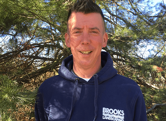 <p>Mark has been working for Brooks Landscaping since 2014, and believes that working for a family owned company, who really cares about every employee, is the best part of working for Brooks.</p>